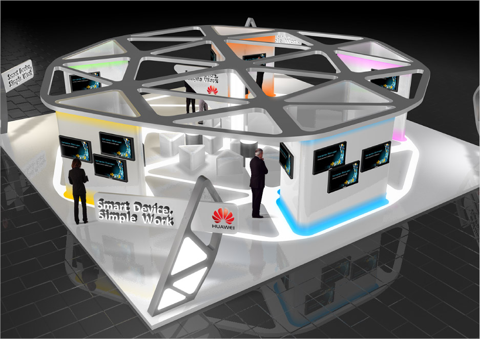 Trade Show Booth Objectives : Booth contraction designing