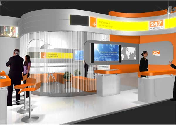 Exhibition Stand Design Presentation : Booth contraction designing